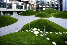 Grass mounds #16