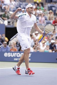 Andy Roddick Sport: Tennis  -  Any guy who marries Brooklyn Decker deserves a gold medal for that feat alone. This tennis star will show off his wicked-fast serve in London and hopefully win big for the red, white and blue.