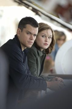 "Matt Damon as Jason Bourne and Julia Stiles as Nikki Parsons in ""The Bourne Ultimatum"" (2007)"
