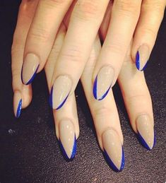 20 Worth Trying Long Stiletto Nails Designs When it comes to style, then a nails art boosts the confidenceม gives hands more presentable look.Check out these 20 stilettos nails art to suite you. Long Stiletto Nails, Nude Nails, Neutral Nails, Long Nails, Get Nails, How To Do Nails, Fall Nails, Summer Nails, French Nail Designs