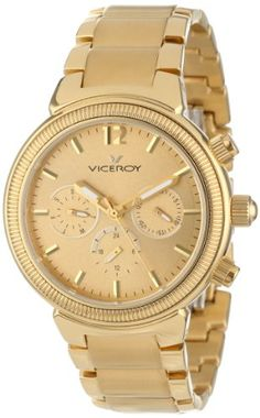 Reloj Viceroy Femme 47642-29 Mujer Dorado #relojes #viceroy