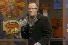 """The WKRP Turkey Drop Episode. """"As God is my witness, I thought turkeys could fly!"""" SOOOO funny!!!"""