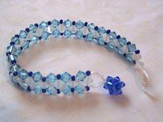 Beaded Bracelet Patterns, Jewelry Patterns, Beaded Jewelry, Beaded Necklace, Right Angle Weave, Swarovski Crystal Beads, Bead Earrings, Crystal Bracelets, Bead Jewelry