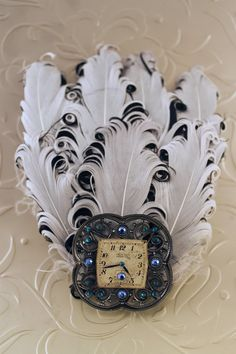 Steam Punk Style, Feather Fascinator...I need this in my life!