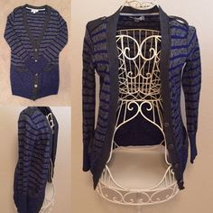 CK Stripe Cardigan Good Condition Calvin Klein Sweaters Cardigans
