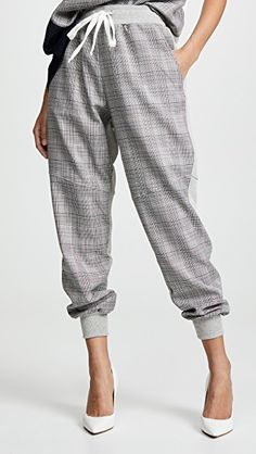 Shop a great selection of Clu Mid Media Track Pants. Find new offer and Similar products for Clu Mid Media Track Pants. World Of Fashion, Fashion Online, White Pumps, Clu, Free Clothes, Crew Sweatshirts, Collar Shirts, Classic Looks, French Terry