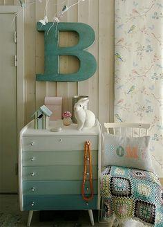 ombre nightstand