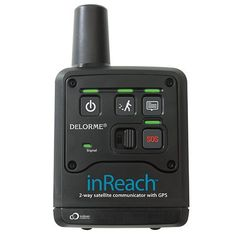 The DeLorme inReach is a rugged, waterproof communications lifeline for outdoor enthusiasts. With inReach you can send and receive vital info or a simple Hello, absolutely anywhere. It's a multi-purpose GPS communicator that doesn't require any companion device and operates on the world's only truly global satellite network.