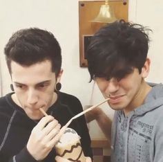 Andy and Dave of crown the empire