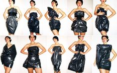 Trash Bag Dresses... anything but clothes party
