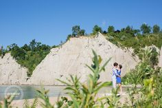 Scarborough Bluffs Engagement Photos