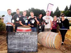 Zandvliet Wacky Wine Weekend Barrel Rolling Champions! Fragrant Roses, Barrel, Bucket, Events, Wine, Barrel Roll, Aquarius, Crates