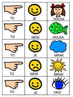 Skladame jednoduche vety Pictogram, Preschool Activities, Worksheets, Language, Album, Education, Learning, Kids, Jena