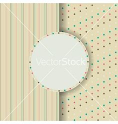 Circle Invitation card vector by Emila904 on VectorStock®