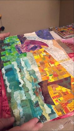 Things to do with your gelli plate prints
