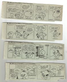 A Set Of Mr. Men Little Miss Comics Little Miss, Shit Happens, Comics, My Love, Men, Life, Comic Book, Guys, Cartoons