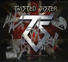 Twisted Sister Signed CD Album Certified Authentic Beckett BAS COA