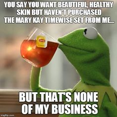 You know that's right! http://www.marykay.com/torikeen