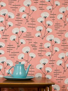 Denver Dolly Pink Wallpaper, Stylish Cool Wallpaper for Modern Homes Wallpaper Paste, Fall Wallpaper, More Wallpaper, Flower Wallpaper, Wallpaper Online, Wallpaper Ideas, Red Colour Palette, Traditional Wallpaper, Contemporary Wallpaper