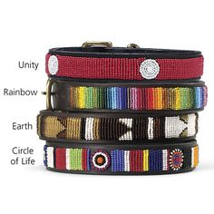 Colorful beading by skilled Maasai artisans. In the Company of Dogs.