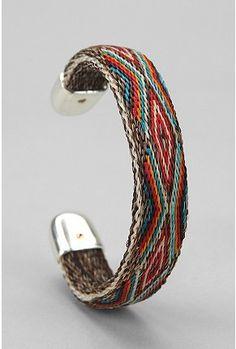 Chamula horse hair bracelet
