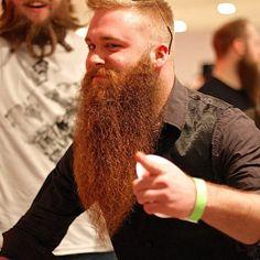 Enviable beard.