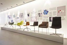 Arper Chair's Collection - Arper Showroom Milan 2011