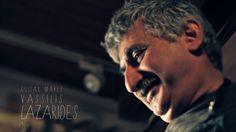 Ο Βασίλης Λαζαρίδης κατασκευάζει μουσικά όργανα από το 1990.