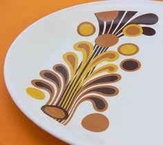 Vintage Alfred Meakin Serving Platter ~ jollypollypickins