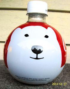 ❤Coca-Cola Polar Bear Bottle