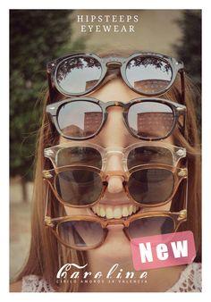 Hipsteeps Eyewear, disponible en el espacio Caroline Concept Store, dentro del shopping center Place, en Cirilo Amorós 24 Valencia.