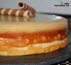Tarta de queso con FussionCook Cheesecake, Food For Thought, Bakery, Pudding, Healthy Recipes, Cooking, Sweet, Desserts, Gastronomia
