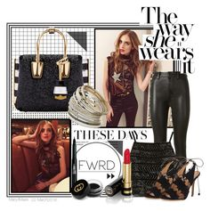 """""""The Way She Wears It"""" by octobermaze ❤ liked on Polyvore featuring Chiara Ferragni, Unravel, Rimmel, Gucci, Topshop, ALEXA WAGNER, MCM and Miss Selfridge"""
