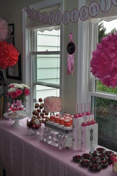 """""""Tickled Pink"""" Baby Shower awesome ideas for nene pink girl baby shower"""