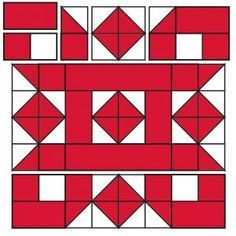 Sewing Block Quilts Block 22 for the 2017 Christmas Countdown. Christmas Blocks, Christmas Quilt Patterns, Barn Quilt Patterns, Pattern Blocks, Christmas Quilting, Christmas Tables, Quilting Projects, Quilting Designs, Quilting Ideas
