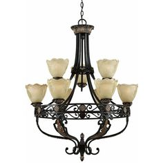 I pinned this Corinthian Chandelier from the Triarch event at Joss and Main!