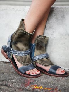 Free People Everything Went West Sandal.  Want!