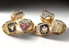 Michael Jordan's Six Championship Rings