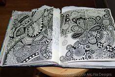 zen tangle book