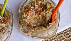 Zucchini Bread Oatmeal -- Oh She Glows Apple Pie Oatmeal, Carrot Cake Oatmeal, Cereal Recipes, Oatmeal Recipes, Gluten Free Recipes, Healthy Recipes, Healthy Breakfasts, Healthy Eats, Breakfast Recipes