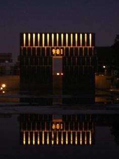 Picture of Oklahoma City, OK - Memorial of the Bombing. <3