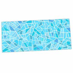 "afe images ""Abstract Mosaic  Desk Mat from KESS InHouse."