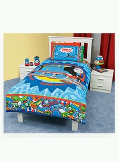 thomas the tank engine room decor | Thomas The Train Bedding and ...