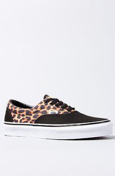 128ff04a573 Vans Footwear The Era Sneaker in Leopard