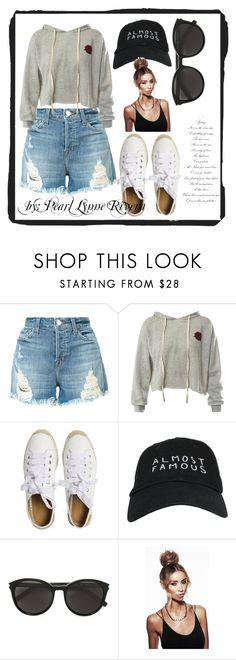 """""""Ynallection Maong Day"""" by pearllynnerivera on Polyvore featuring J Brand, Sans Souci, Matt Bernson, Nasaseasons and Yves Saint Laurent"""