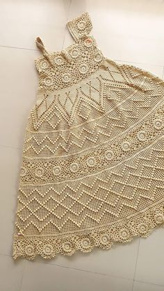 Crochet Wedding Dresses, Crochet Summer Dresses, Crochet Skirts, Crochet Clothes, Crochet Romper, Crochet Blouse, Knit Crochet, Crochet Baby Hat Patterns, Crochet Stitches Patterns