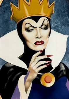 "Dietrich as The Evil Queen - ""You have ice where other's have a heart"""