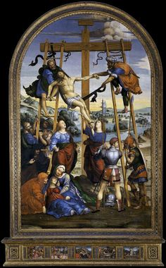 Pinacoteca Nazionale Siena - Sodoma - Deposition from the Cross