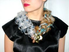 let your inner beast do the work- necklace    by Piia Myller