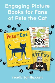 If your little ones enjoy the catchy language, cheerful characters, and upbeat tone of PETE THE CAT books, they'll love this list of kid-approved titles just as much. Llama Llama Red Pajama, Easter Cats, Classic Series, Grumpy Cat, Little Ones, Your Dog, Kitten, Language, Characters